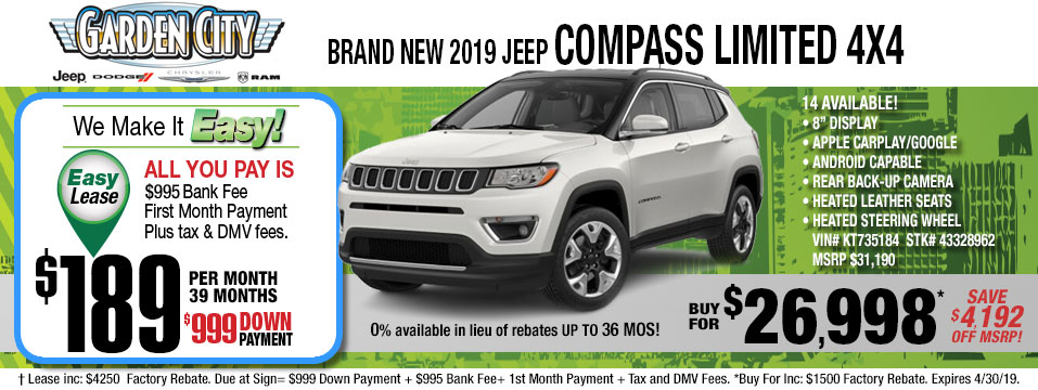 2019 Jeep Compass-Limited