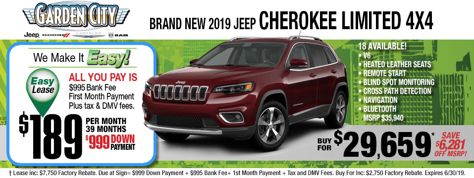 Jeep Cherokee-Ltd